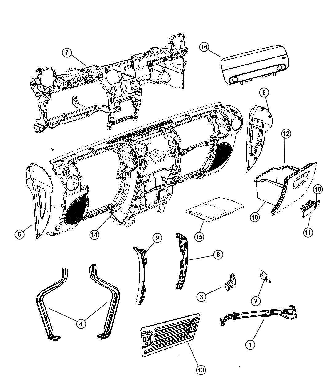 Jeep Wrangler Door. Passenger air bag. [dd]. Trim: [all