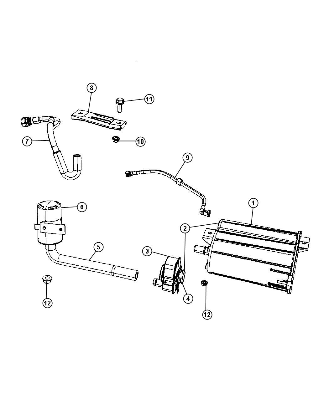 2007 suburban fuel filter location