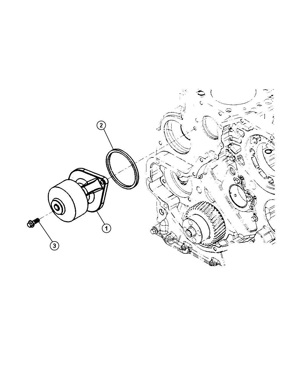 Dodge Ram Pump Water Coolerblack Redk Silicone