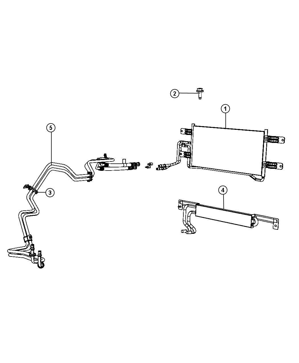 Dodge Ram Cooler Transmission Oil Lines Etjsel