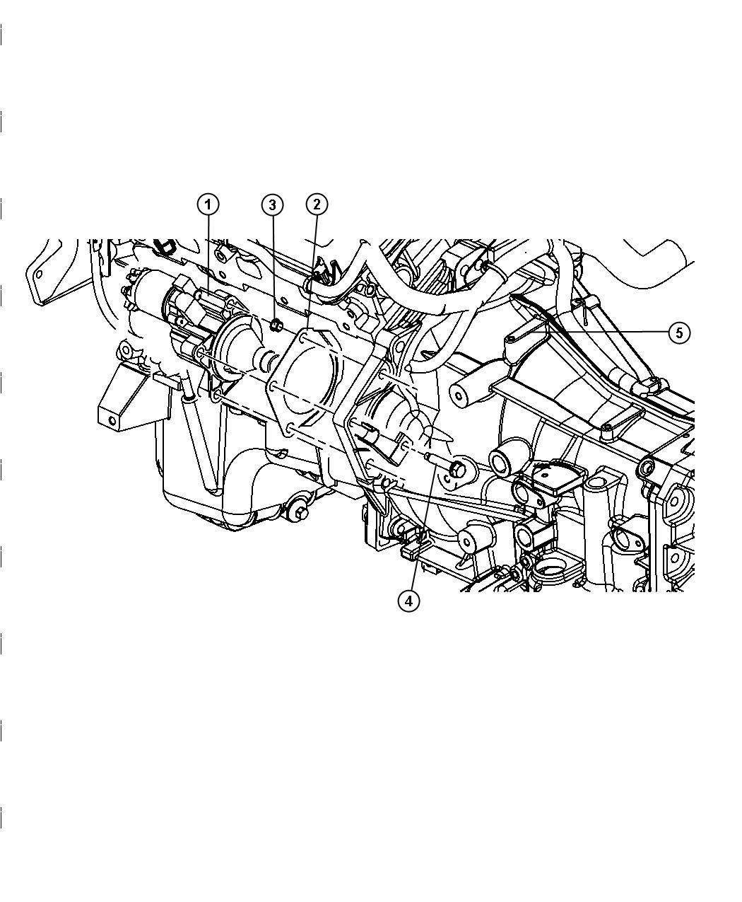 Dodge Challenger Starter. Engine. Remanufactured