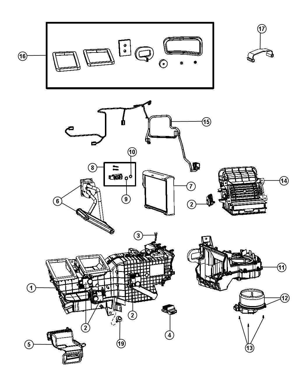Dodge Ram 1500 Valve, valve kit. A/c expansion, expansion