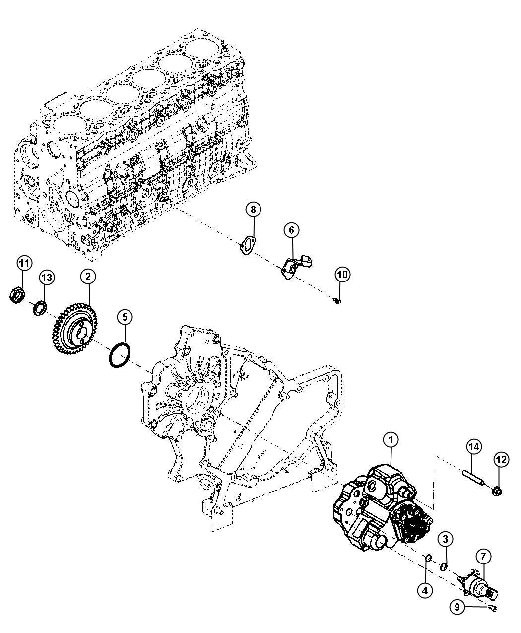 Dodge Ram 2500 Cover. Fuel transfer pump access hole