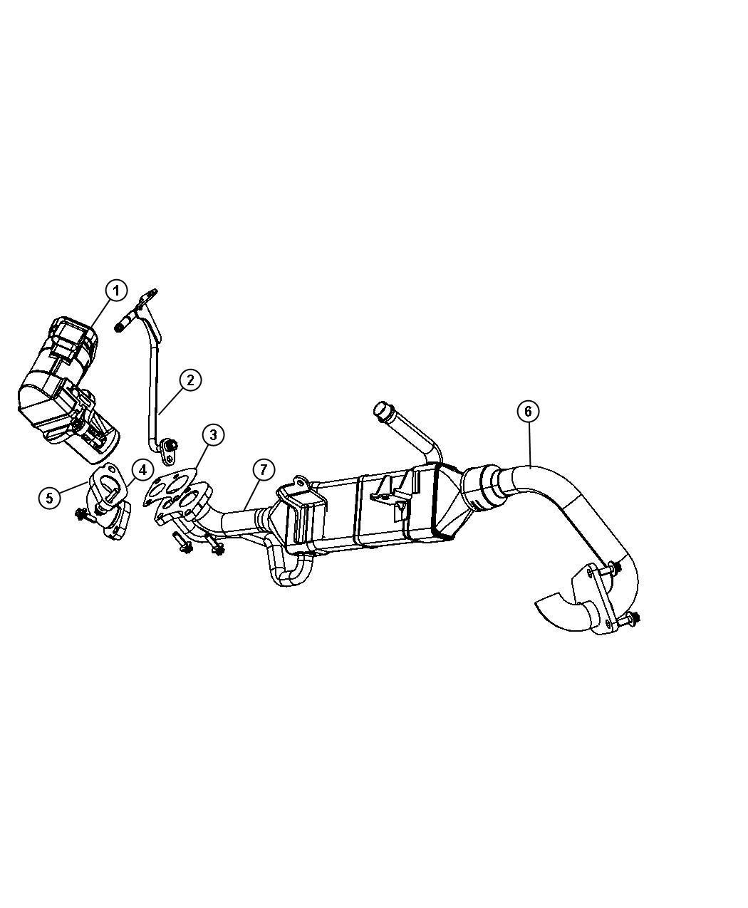 Jeep Grand Cherokee Cooler. Charge air, egr. Diesel