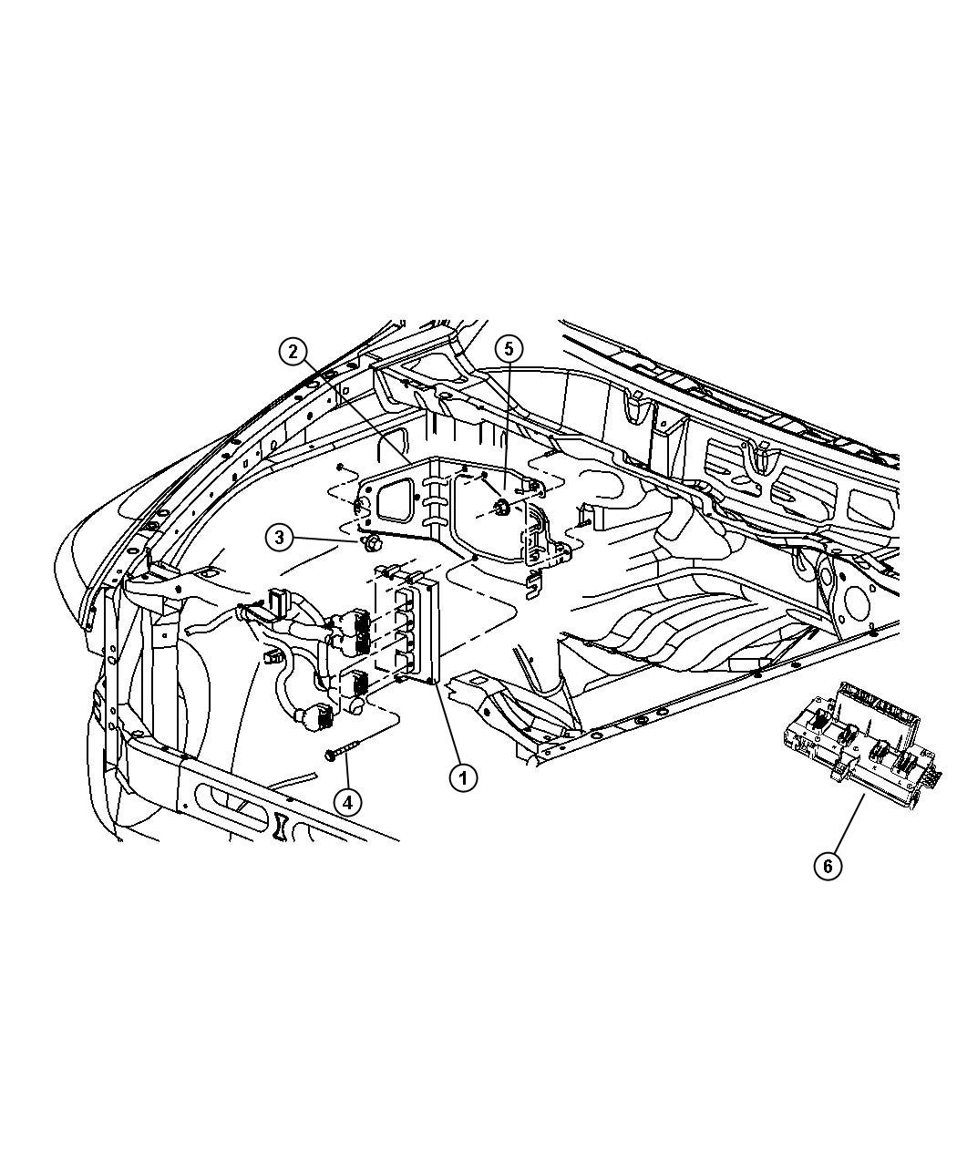 Dodge Ram Module Powertrain Control Generic Engine