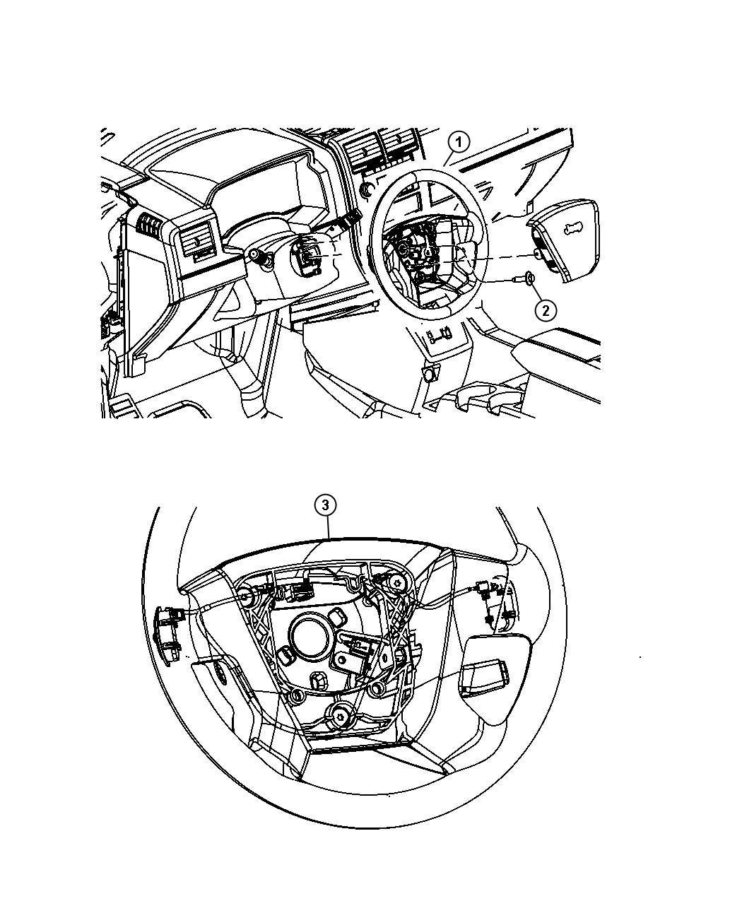 2009 Chrysler PT Cruiser Wheel. Steering. Trim: [all trim