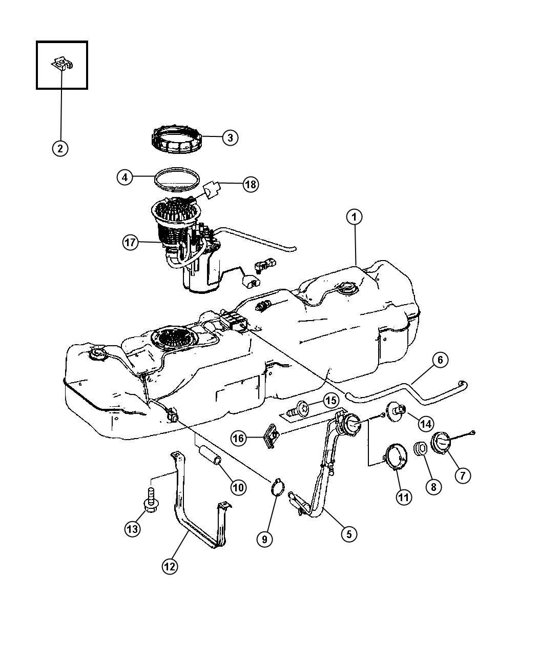 Dodge Sprinter Module Fuel Tank