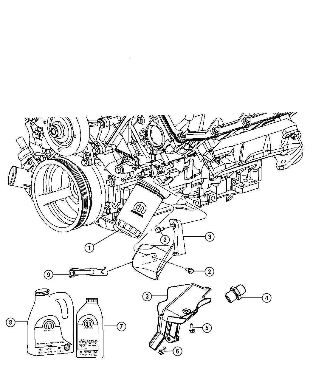 Jeep Grand Cherokee Filter. Engine oil. Magneti marelli