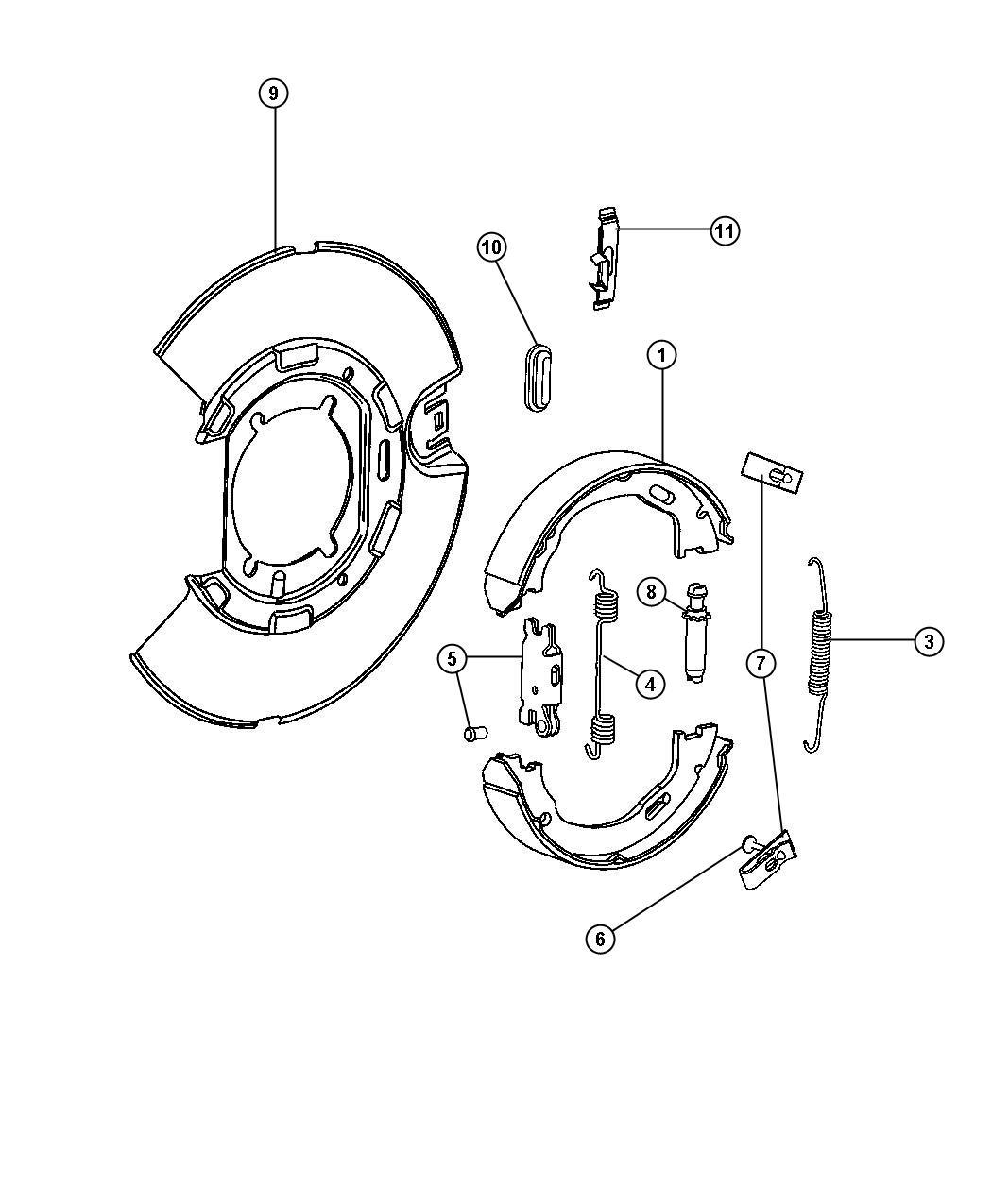 Service manual [2010 Chrysler 300 Brake Replacement System