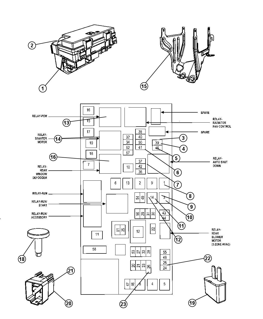 Dodge Nitro 3 7 Relay Diagram