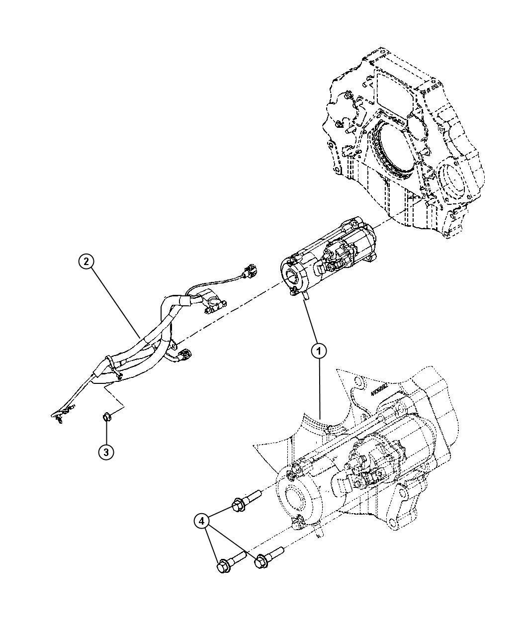 2011 Dodge Ram 3500 Wiring. Starter. Emissions, export