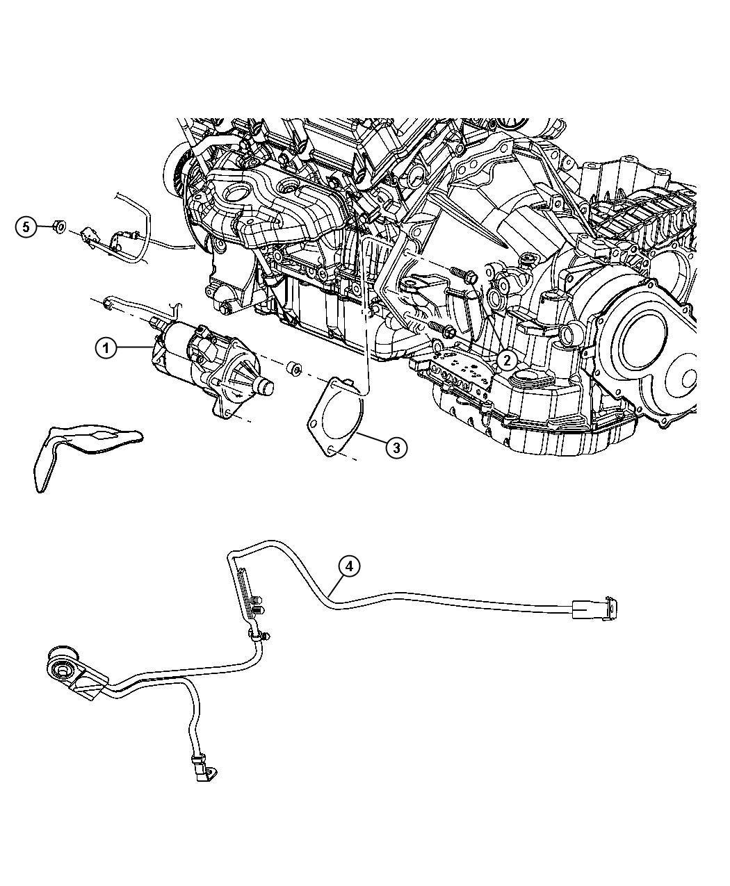 2010 Chrysler Sebring Starter. Engine. Remanufactured