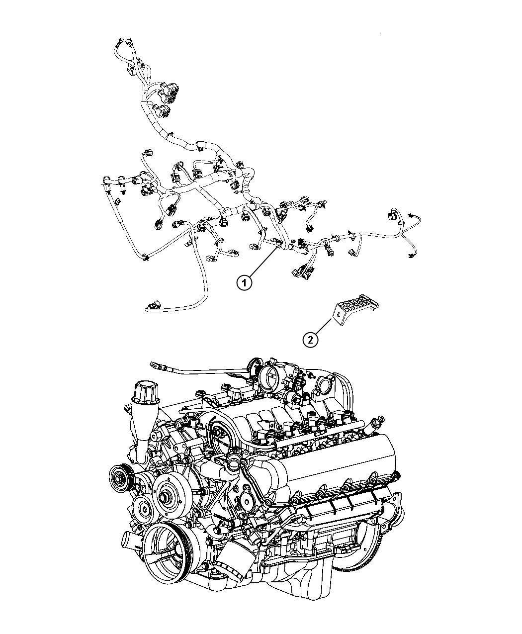 Dodge Ram Wiring Engine Dh5 Shift Case