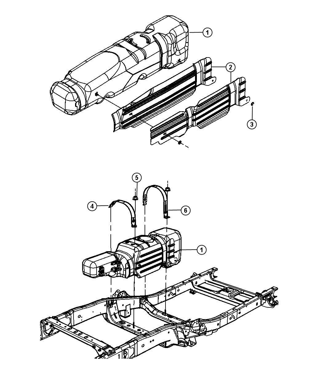 2015 Ram 1500 Tank. Fuel. [nfx], [nfx], [xkn], [nfx], xkn