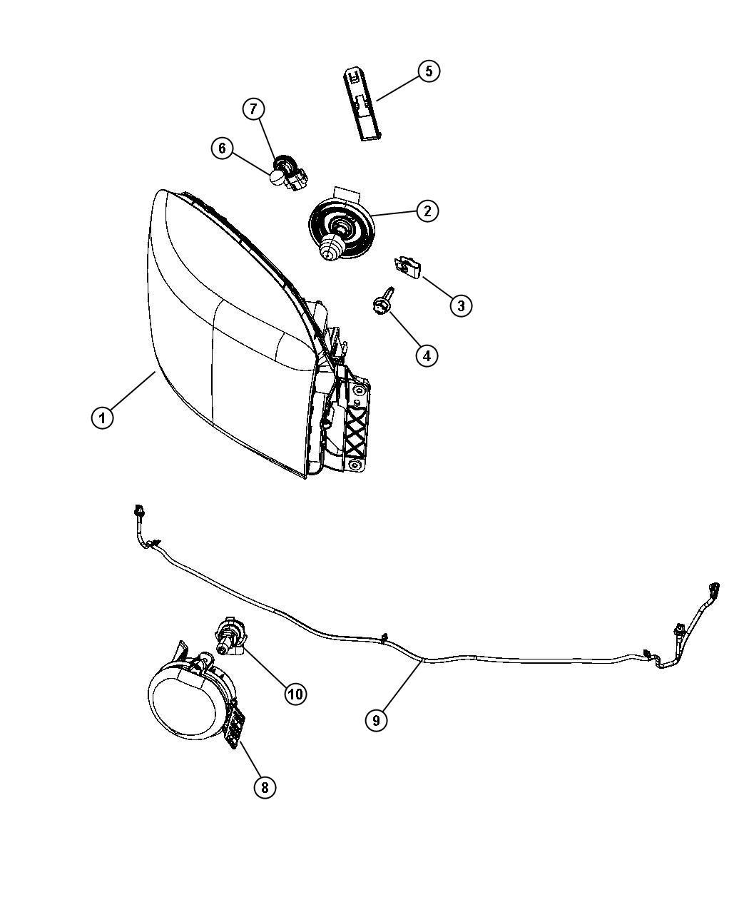 2012 Dodge Ram 3500 Wiring. Fog lamp jumper. Apd