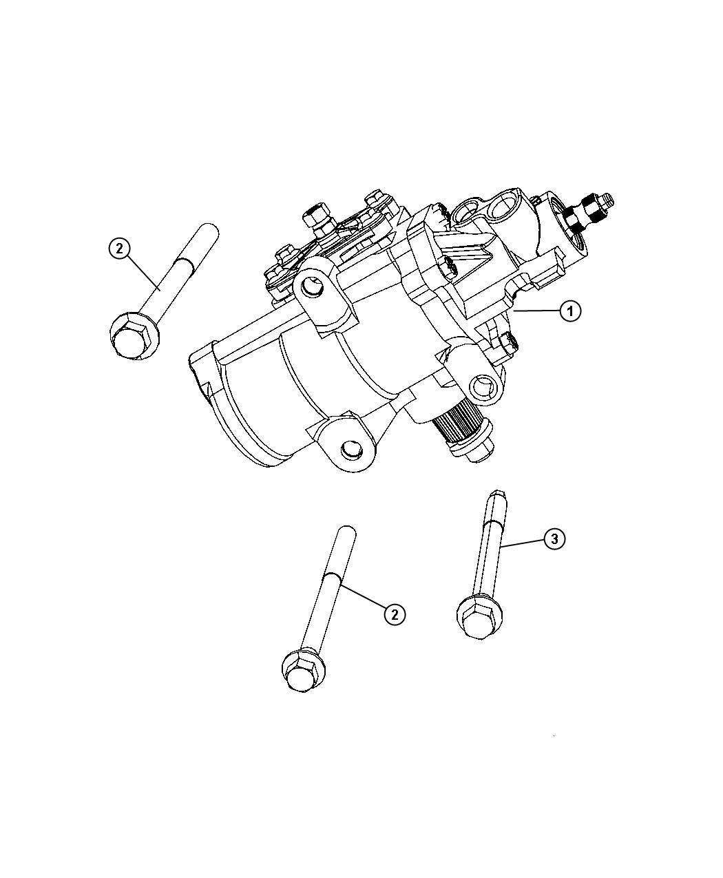 Dodge Ram Seal Kit Pitman Shaft Steering