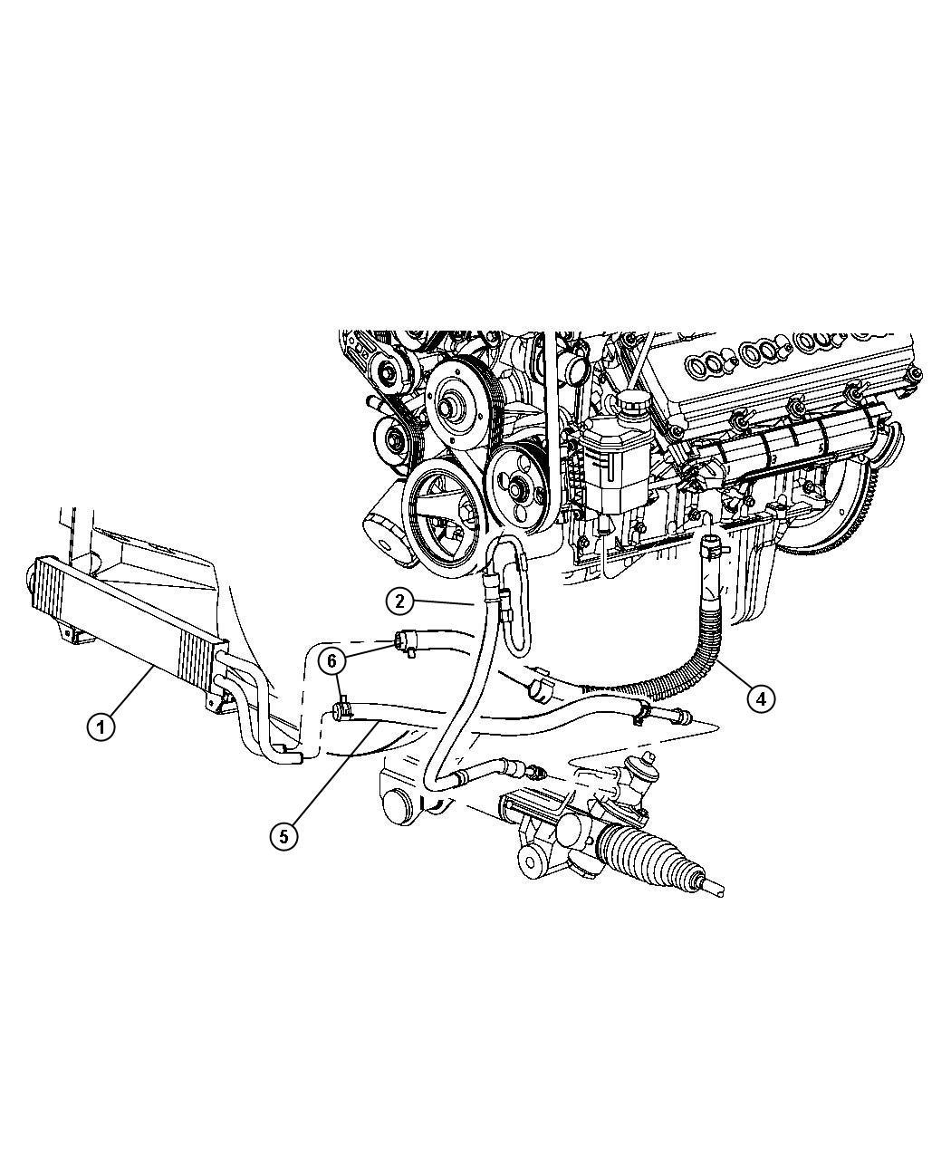 Dodge Ram Cooler Power Steering Hydrobooster