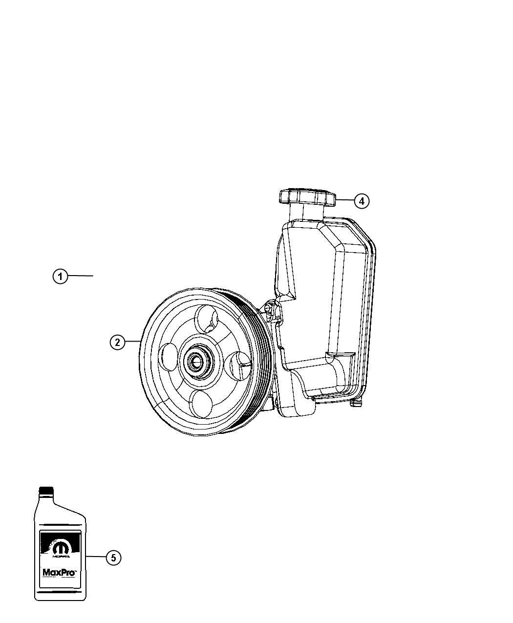 Dodge Nitro Pump Power Steering