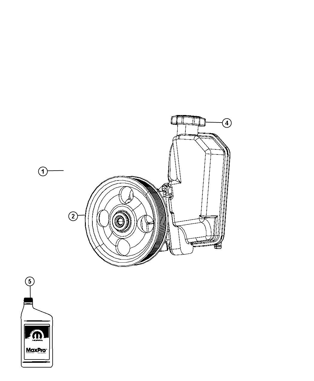 Dodge Nitro Pulley Power Steering Pump Pulleys Gas