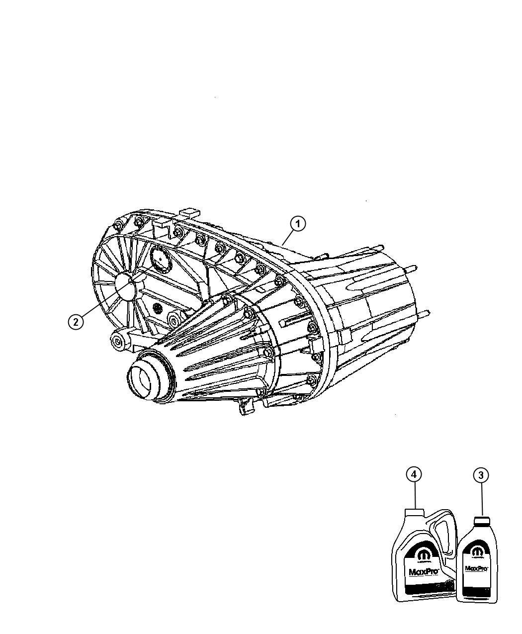 Dodge Ram T Case Nvg271 Transmission Transfer