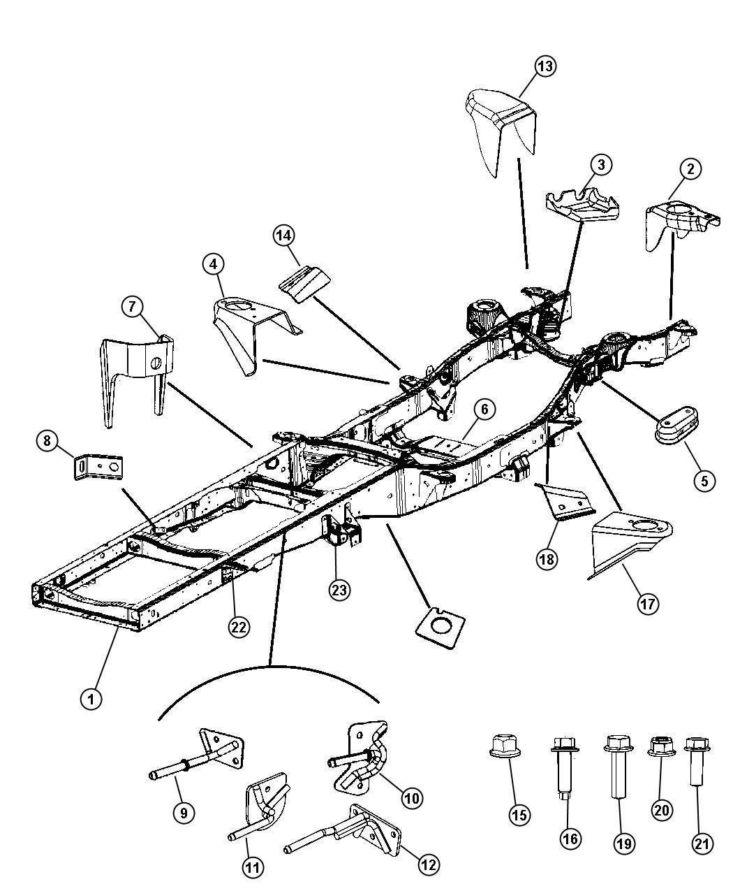 Dodge Ram Parts Diagram