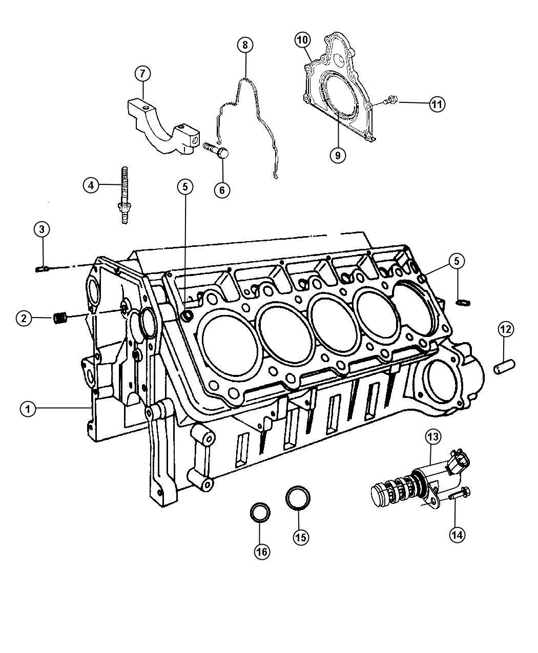 2010 Dodge Viper Engine. Short block. Cylinder, sfi, mopar