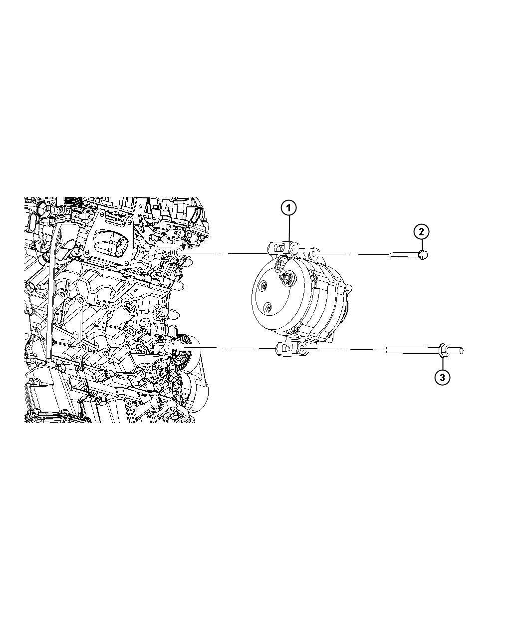 Dodge Magnum Generator Engine Remanufactured 180 Amp