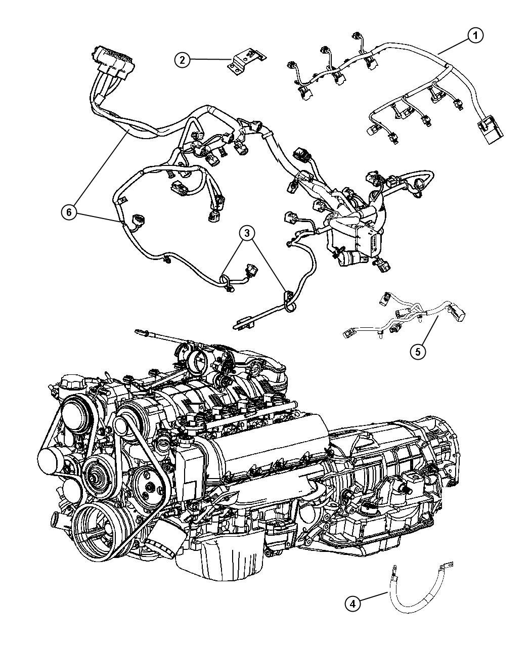 Jeep Grand Cherokee Wiring. Engine. Powertrain, mopar, gas