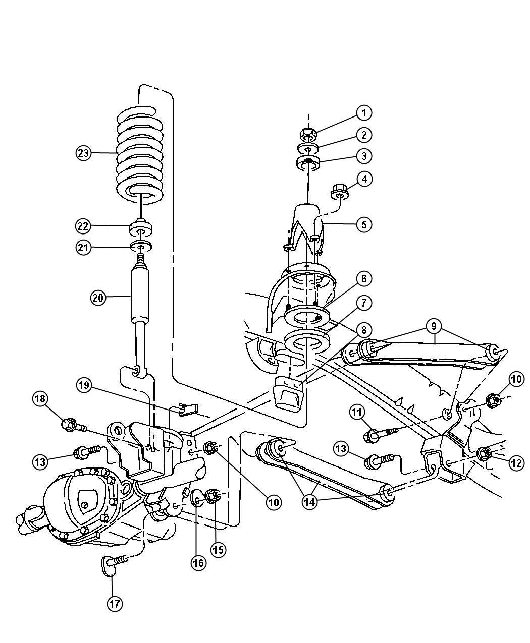 Dodge Ram Nut Hex Flange Lock M14x2 00