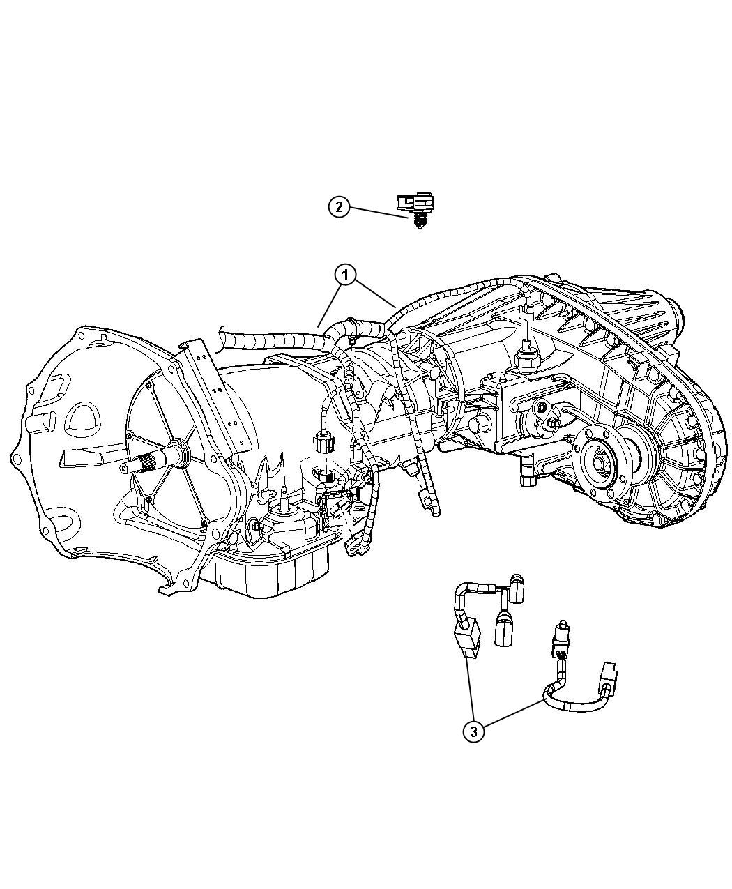 Dodge Ram Wiring Transmission Transfer Shift