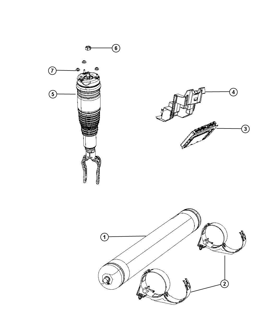 Jeep Grand Cherokee Module. Air suspension. Modules