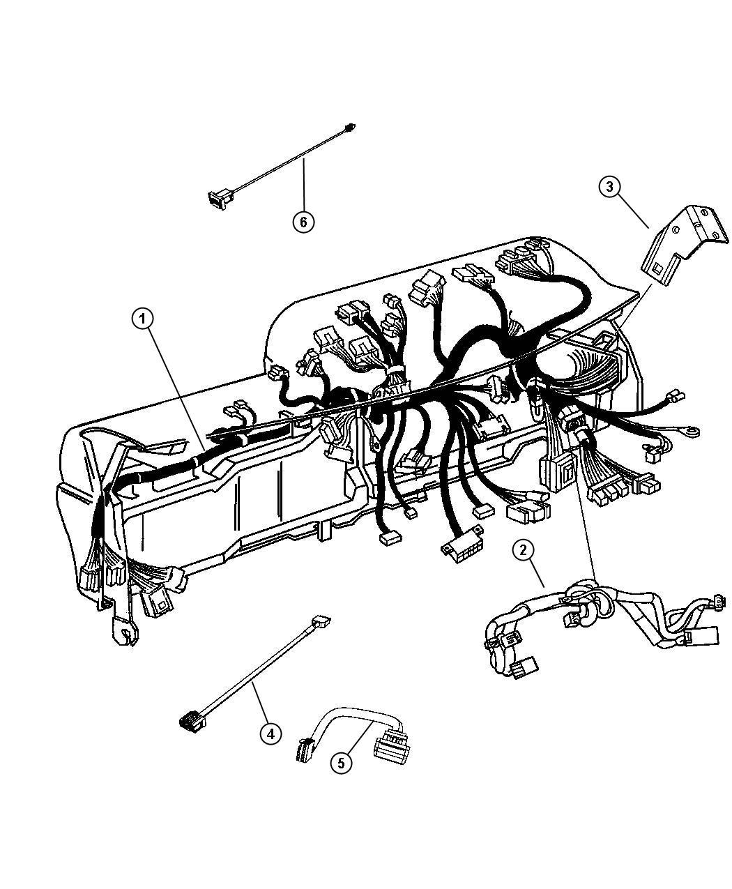 Dodge Ram 5500 Wiring. Jumper. Telematics module
