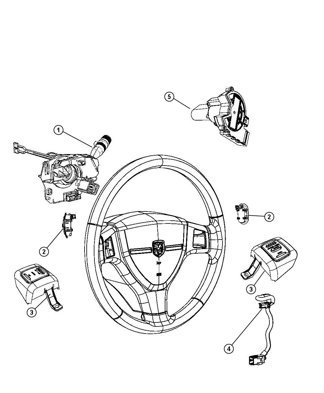 Dodge Dakota Switch Ignition Steering Column Tilt