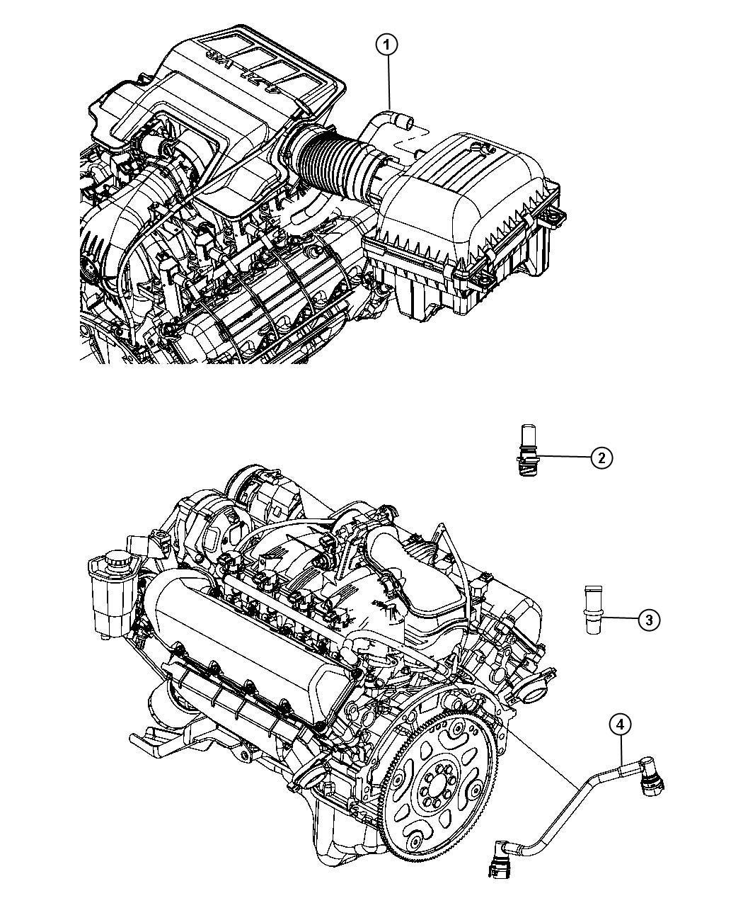 Dodge Dakota Tube. Crankcase vent to intake manifold. Crew