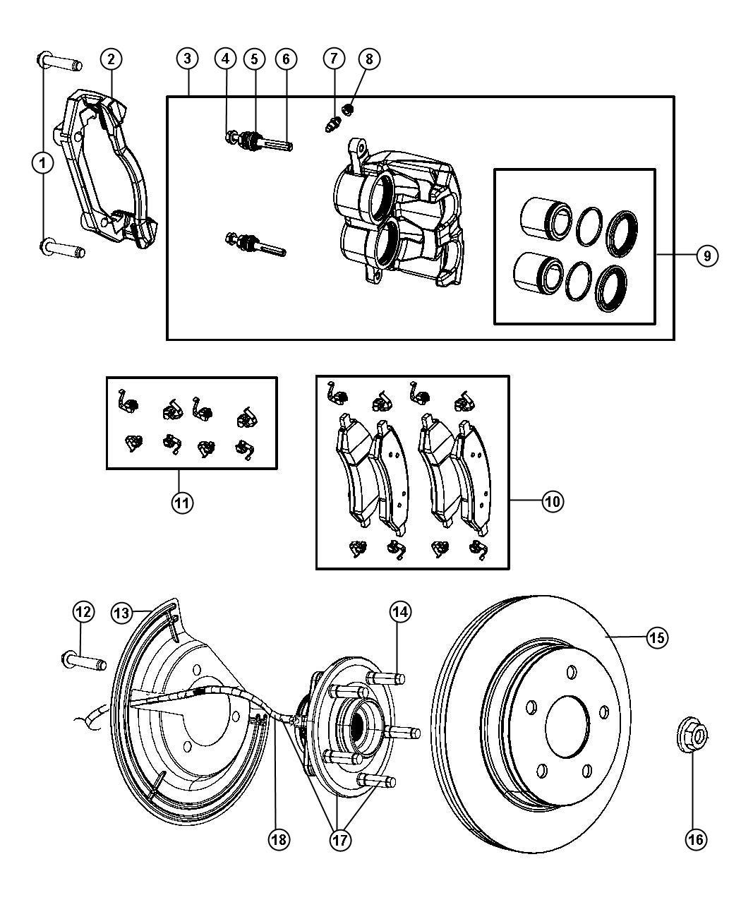 2011 Dodge Dakota Rotor. Brake. Value line part. Brakes