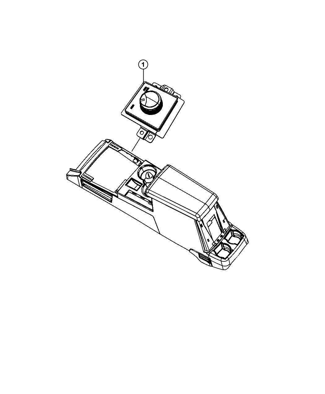 2011 Jeep Liberty Switch. Transfer case. [command trac ii