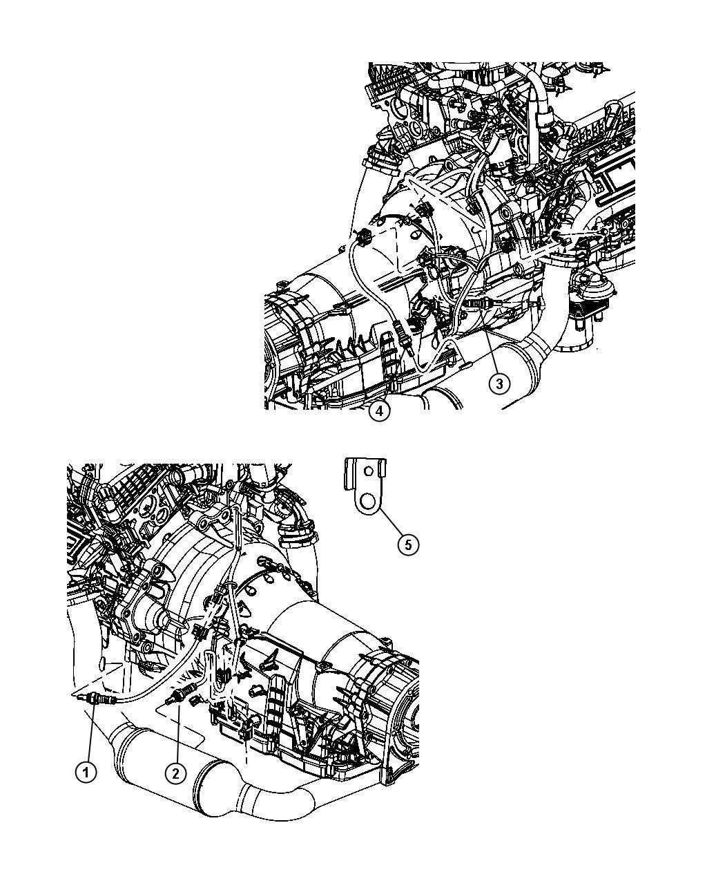 Jeep Liberty Sensor. Oxygen. After catalyst, before