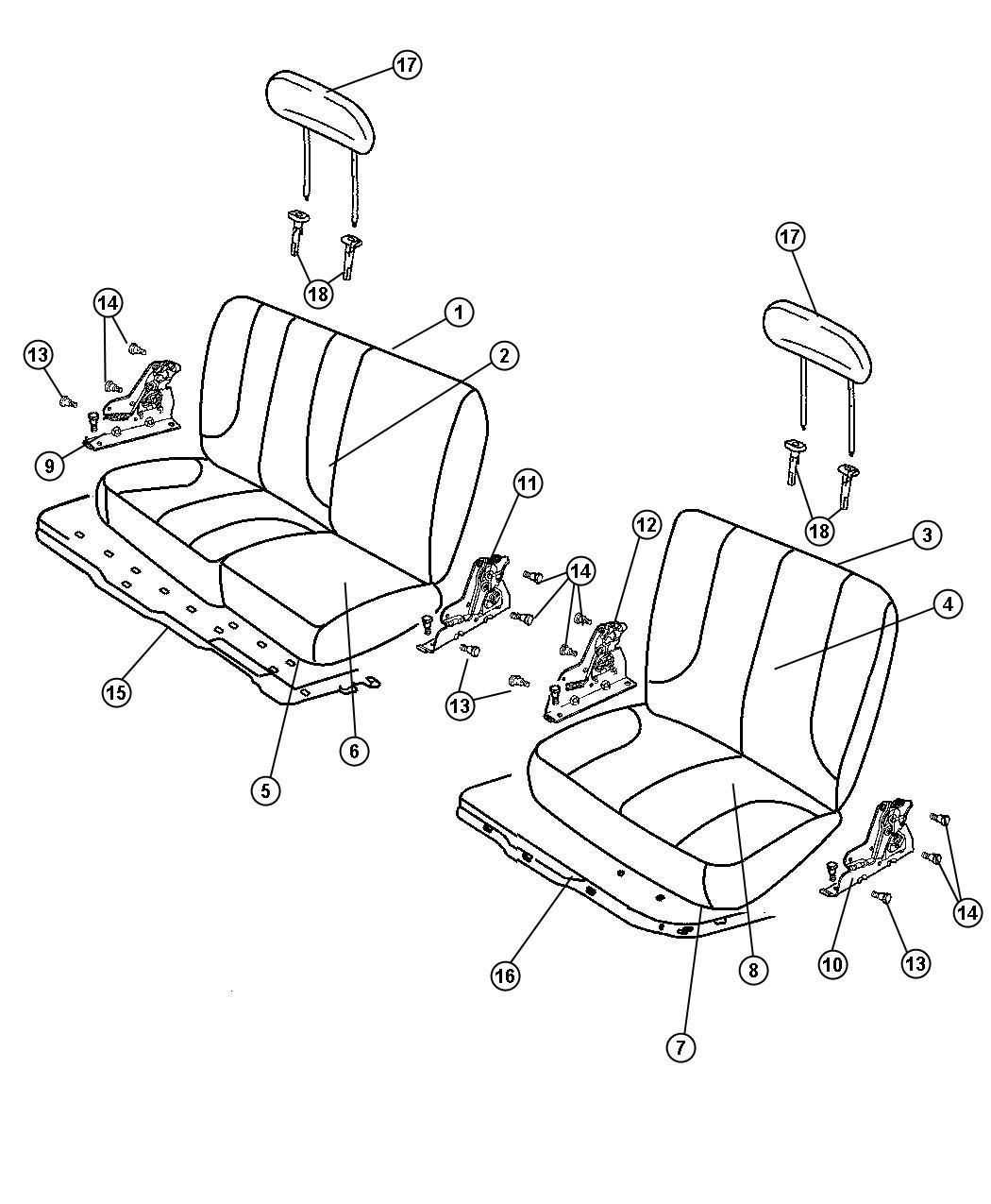 Dodge Ram 4500 Armrest. Seat. [kt]. Trim: [leather trimmed