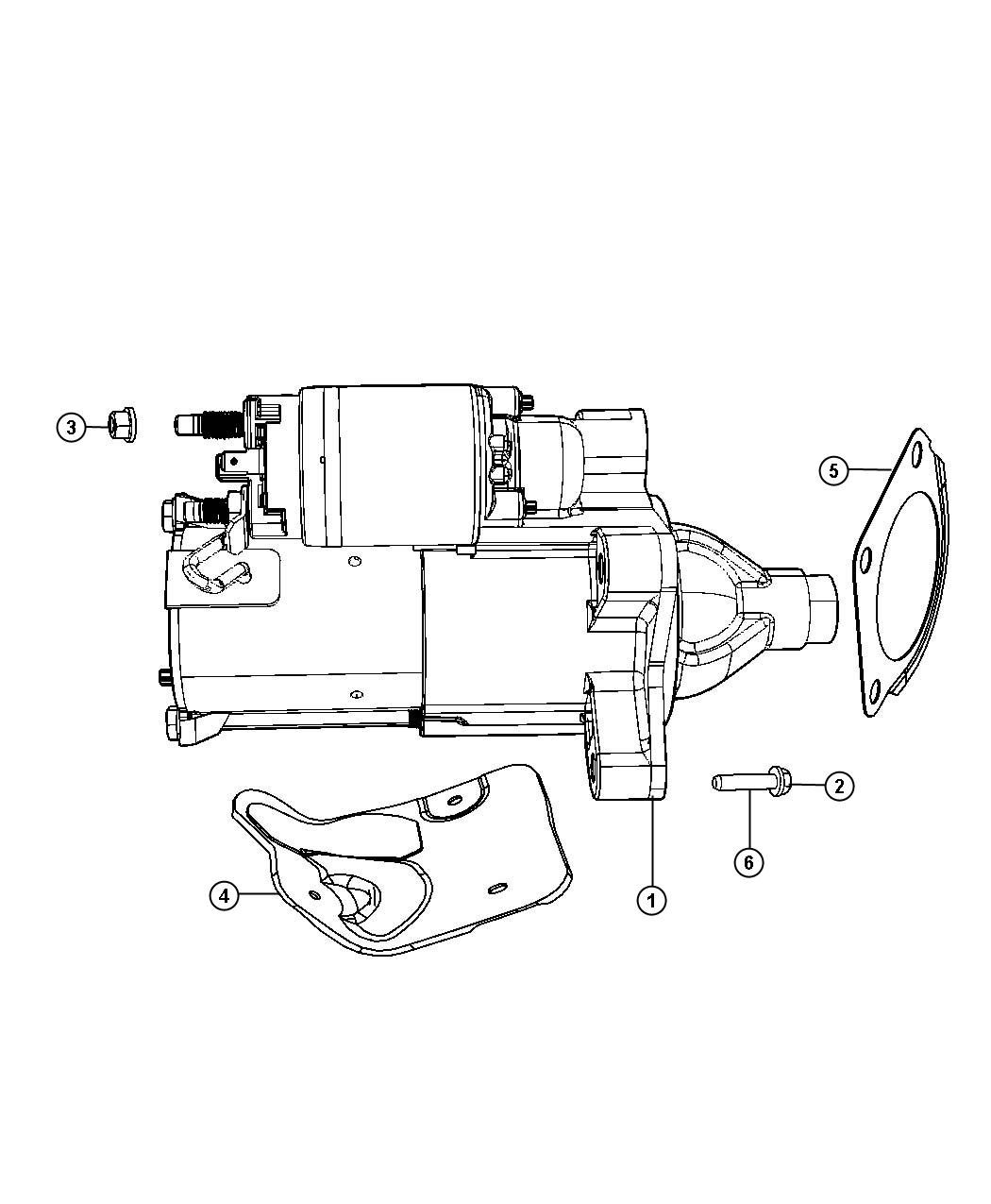 Jeep Wrangler Starter Engine Remanufactured