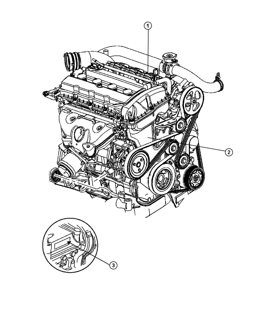 Jeep Patriot Engine. Long block. Remanufactured. [engine