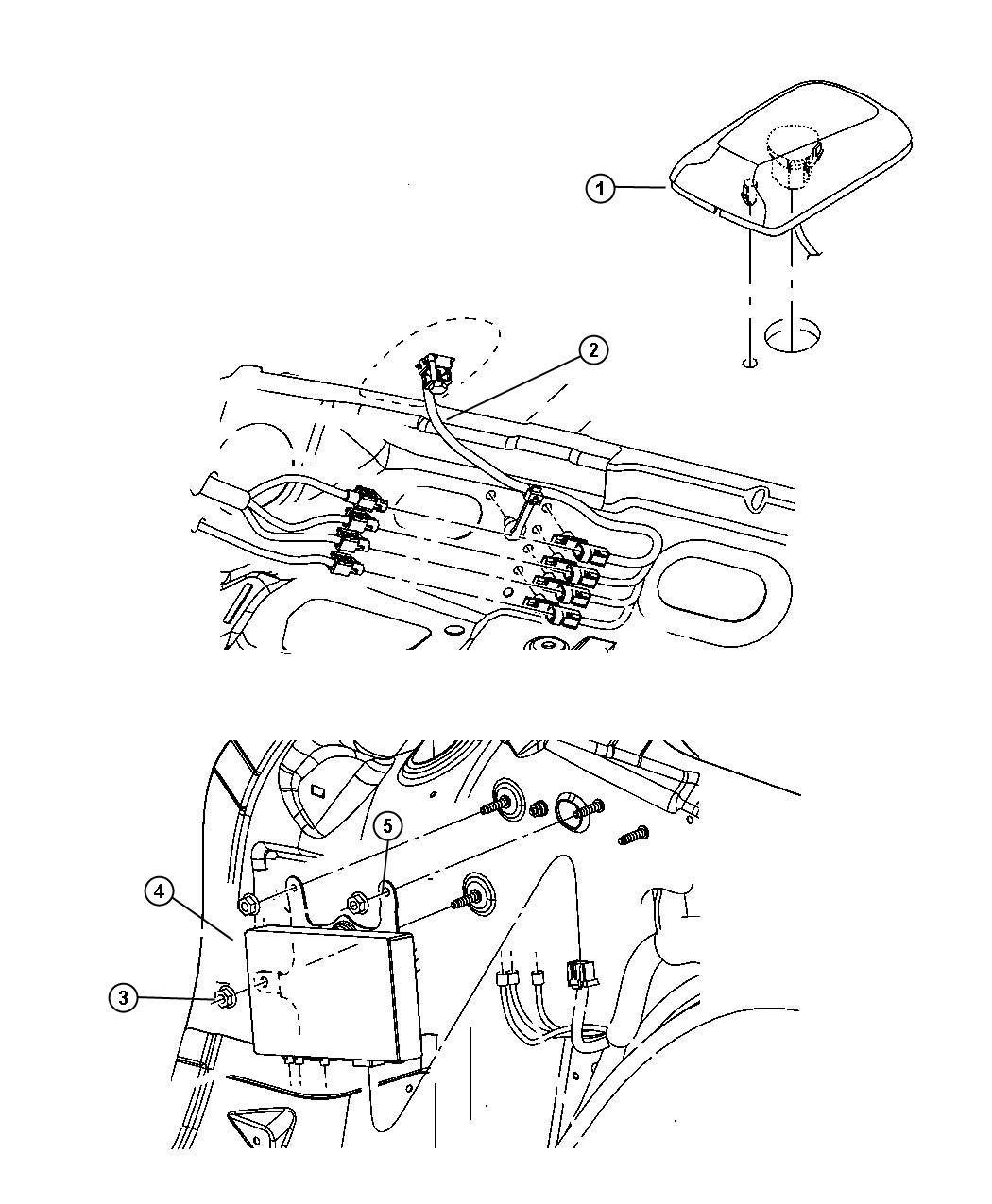 Dodge Magnum Bracket. Radio, satellite video receiver