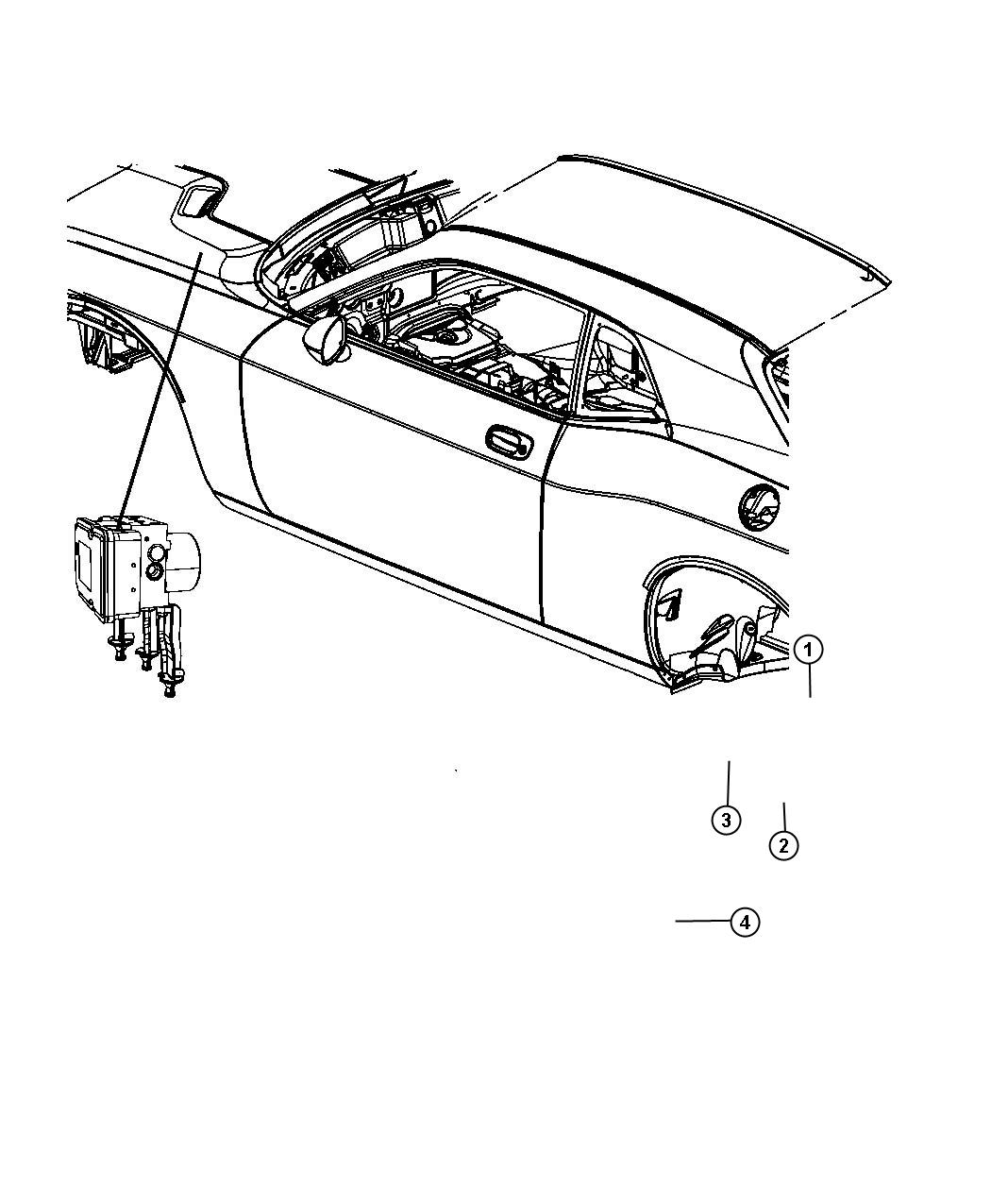 Dodge Challenger Module Anti Lock Brake System