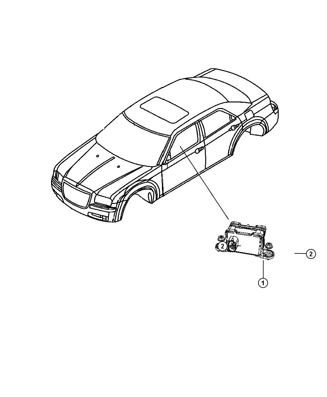 Dodge Charger Sensor Dynamics Used For Lateral