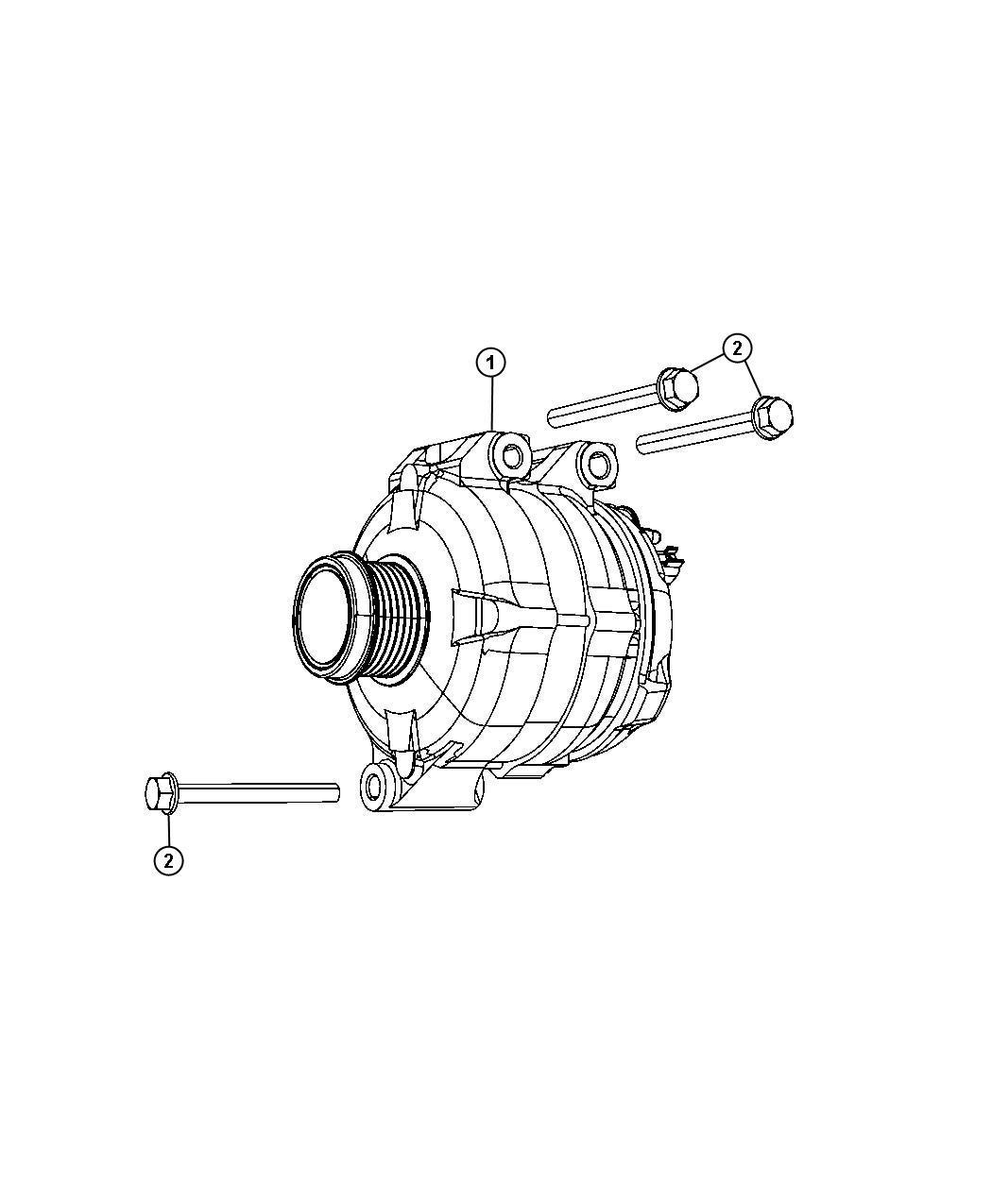 Dodge Charger Generator Engine Remanufactured Export