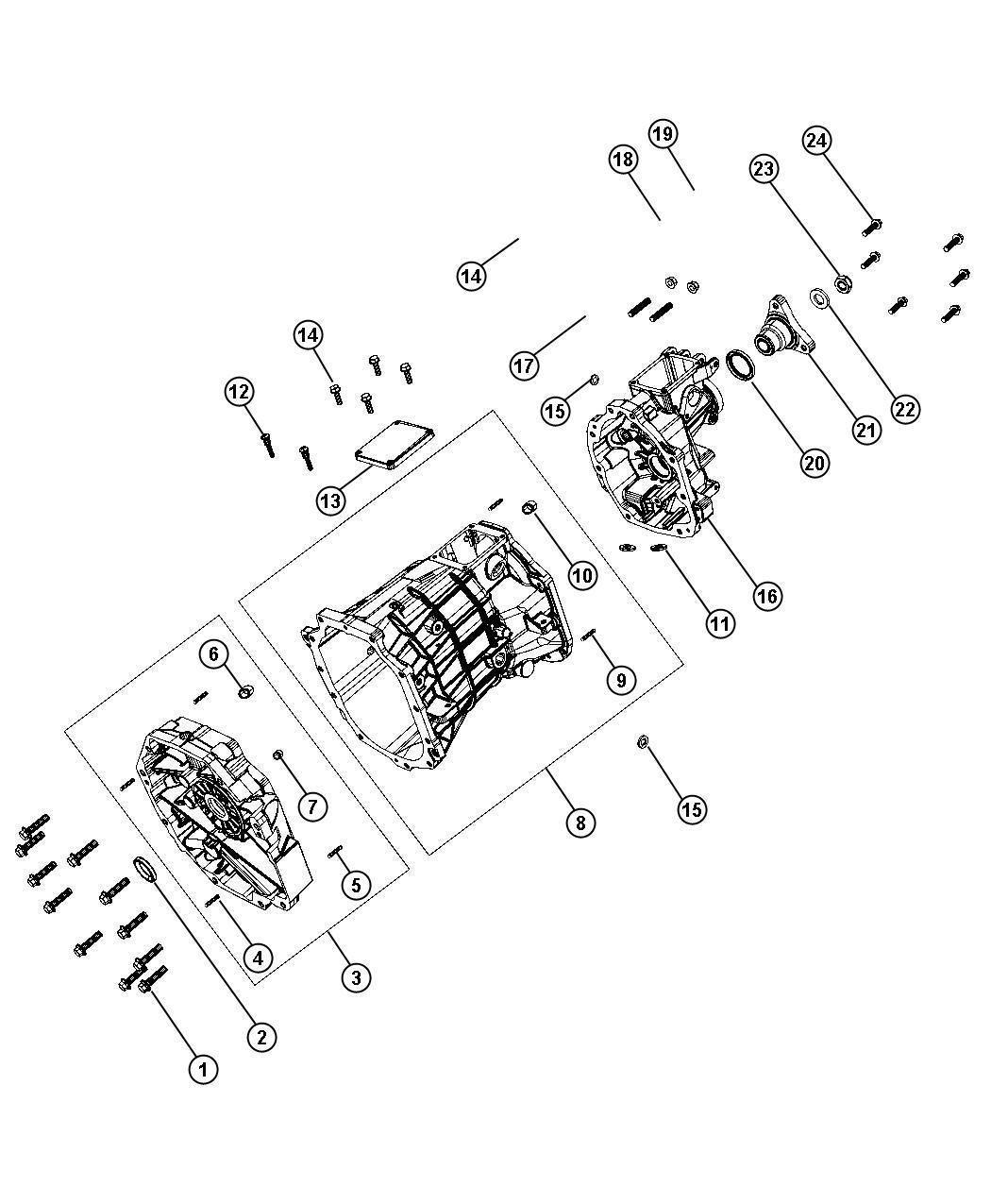 2009 Dodge Ram 3500 Plug. Oil fill, transmission drain