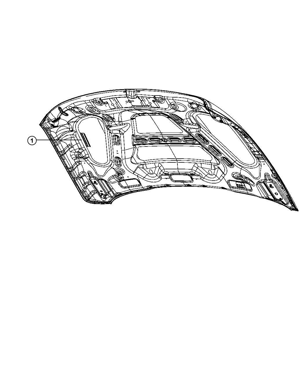 Dodge Ram Label Vehicle Emission Control Information 5 7l V8 Hemi Mds Vvt Engine