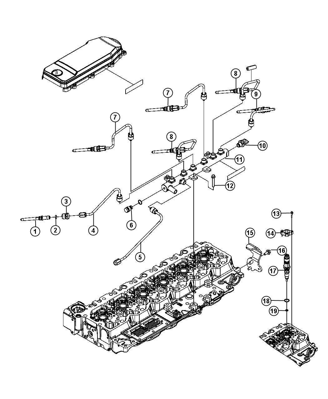 Dodge Ram Injector Fuel Export Emissions