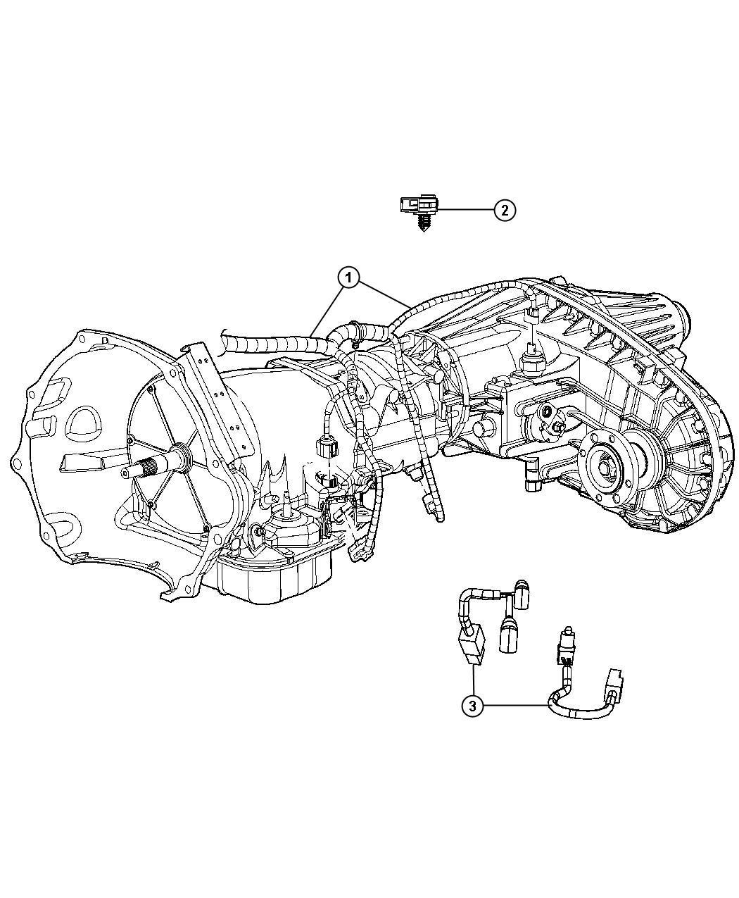 Dodge Ram 4500 Wiring. Transmission. [elec shift-on-the