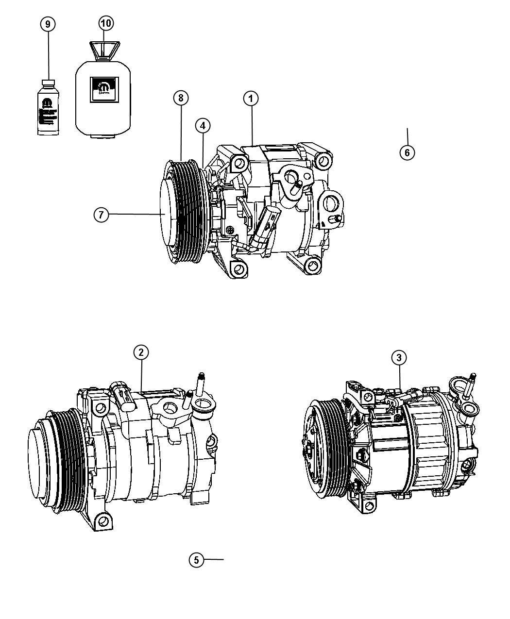 2012 Dodge Journey Plug. Drain. [rear air conditioning w