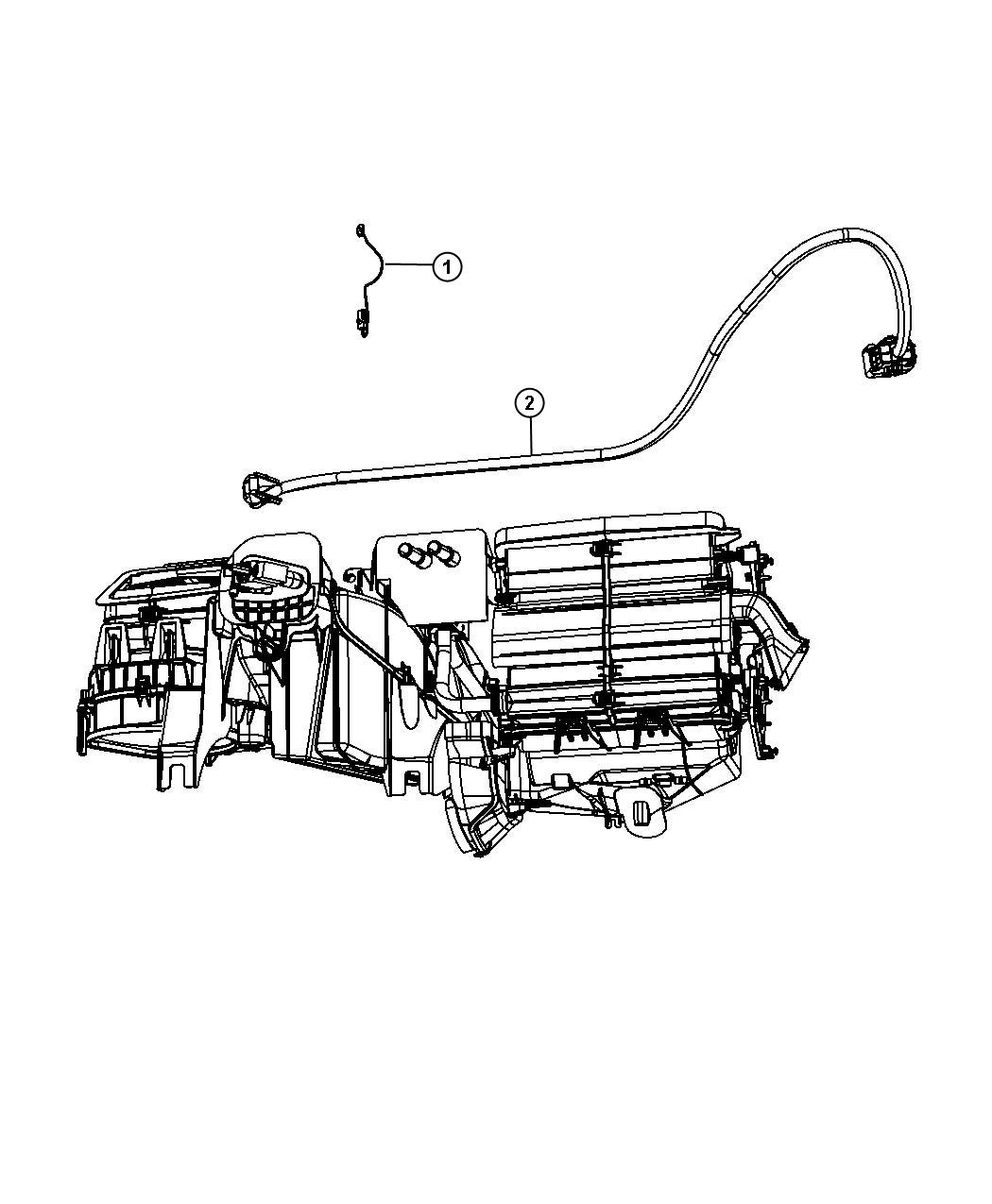 Jeep Liberty Harness Wiring Used For A C And Heater